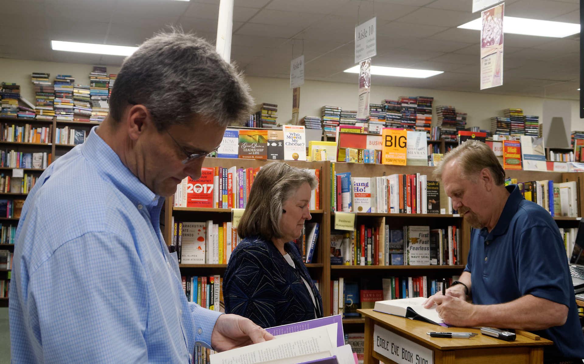 Seventh Sun book signing
