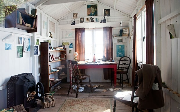 Dylan Thomas writer's cabin